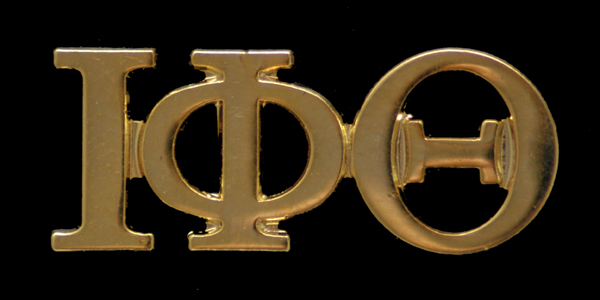 Custom Greek Letter Lapel Pins